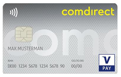 Visa Karte Comdirect.Finanz Heldinnen Konto Finanz Heldinnen